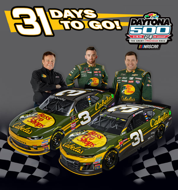 31 Days Until Daytona