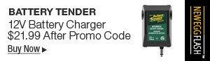 Newegg Flash - Battery Tender 12V Battery Charger