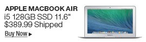"Newegg Flash - Apple MacBook Air i5 128GB SSD 11.6"""