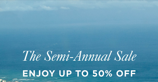 The Semi-Annual Sale