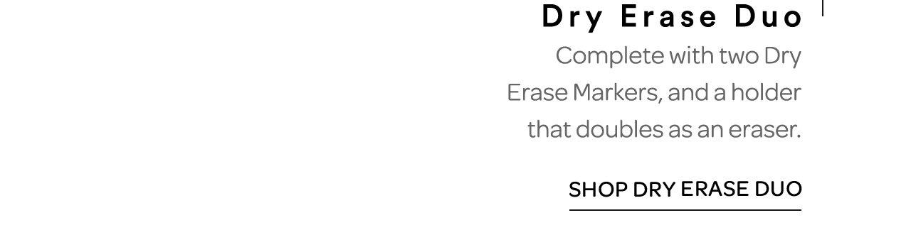 Dry Erase Duo