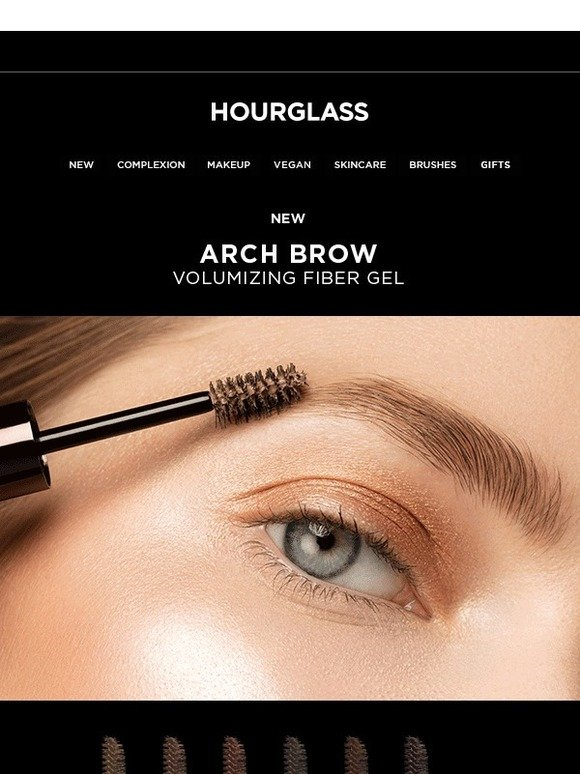 Hourglass Introducing The Arch Brow Gel Collection Milled
