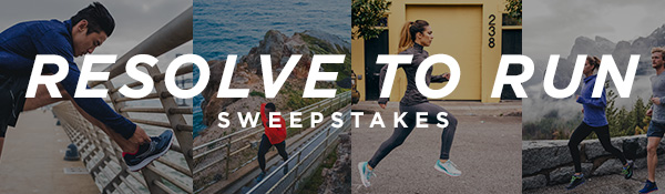RESOLVE TO RUN SWEEPSTAKES