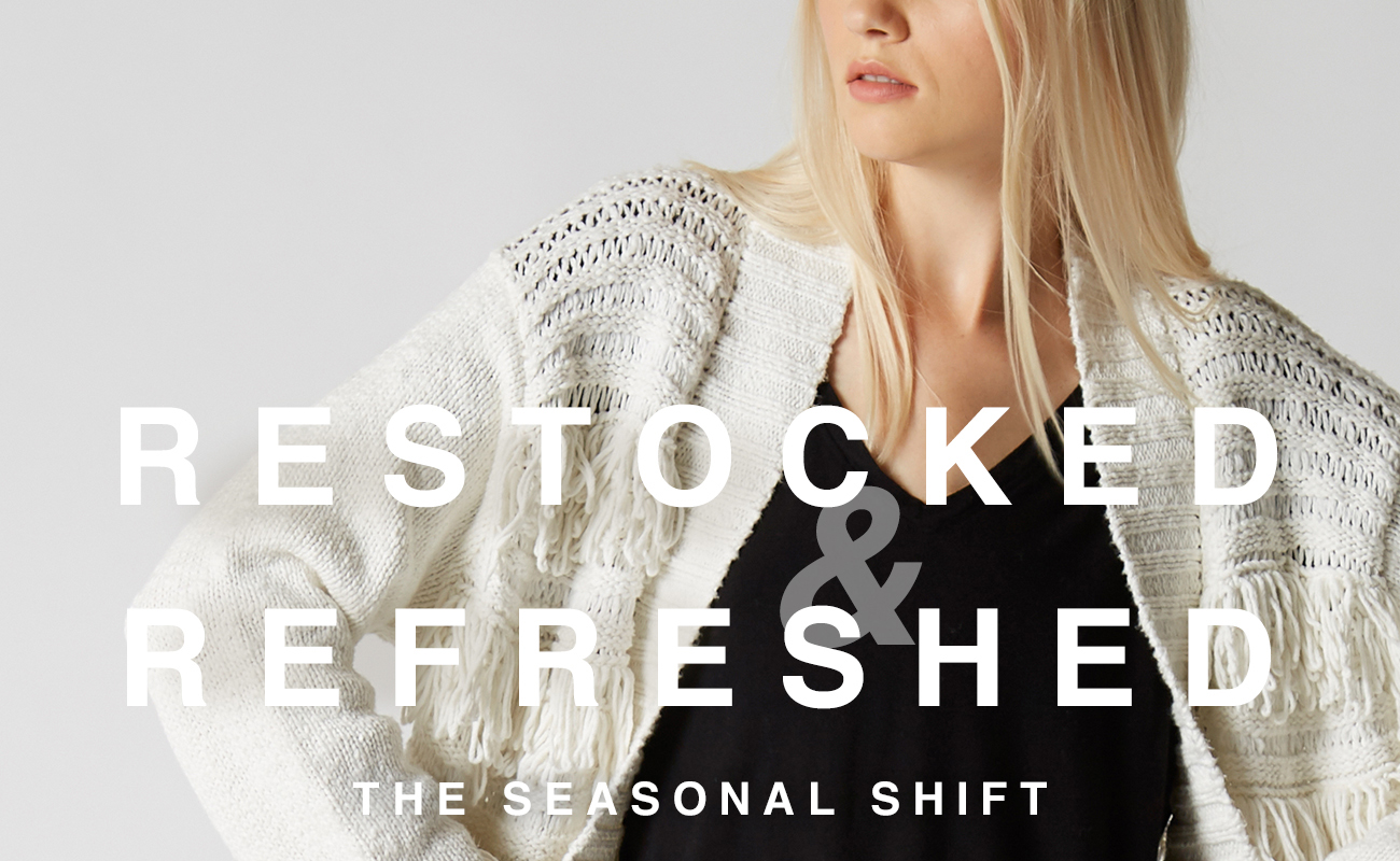 Restocked & Refreshed - The Seasonal Shift