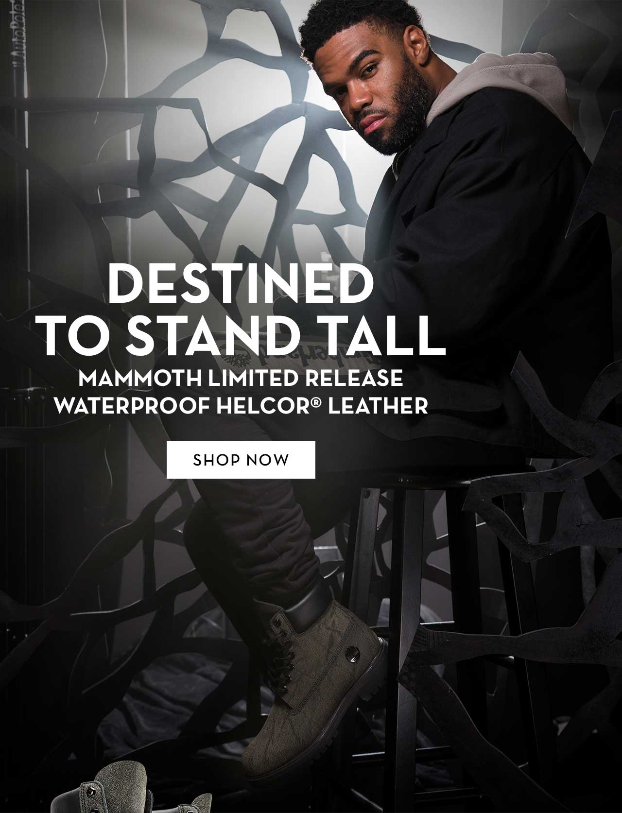 Destined To Stand Tall Mammoth Limited Release Waterproof Helcor Leather Shop Now