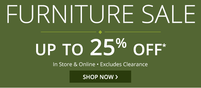 EXTENDED! Furniture sale. Shop now.