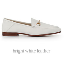 Bright White Leather - Shop Now