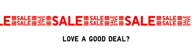 SALE - LOVE A GOOD DEAL?