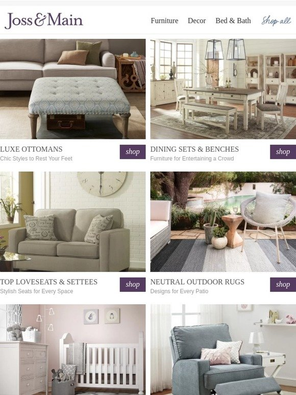 Fantastic Joss Main Plush Ottomans To Rest Your Feet And Wallet Evergreenethics Interior Chair Design Evergreenethicsorg