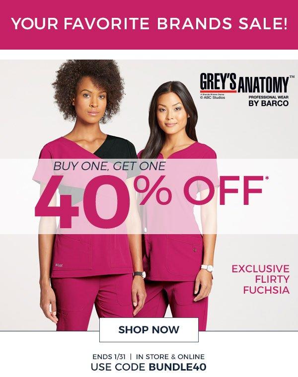 Scrubs Beyond Bogo 40 Off Greys Anatomy Cherokee Workwear