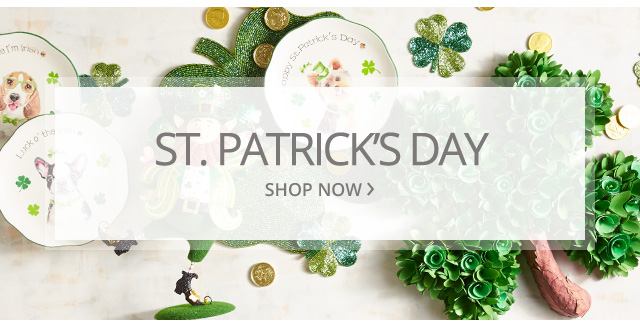 St. Patricks Day. Shop now.