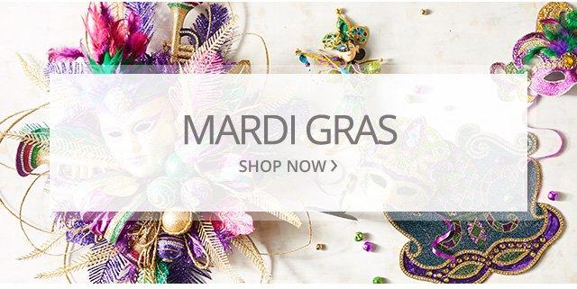 Mardi Gras. Shop now.