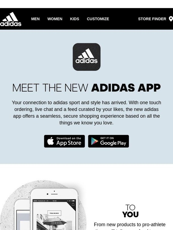Adidas store app