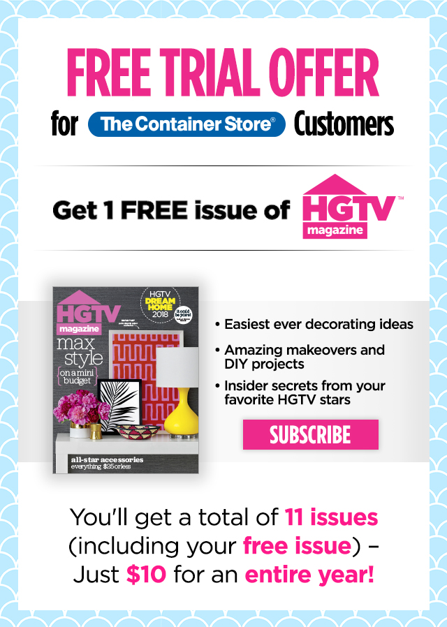 The Container Store: Special Offer for Our Customers – Claim
