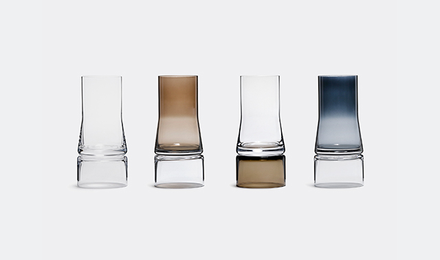 '2-in-1' vase by Joe Colombo for Lyngby Porceln
