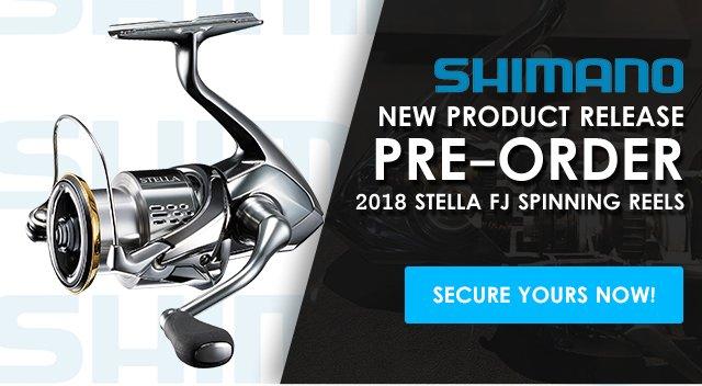 Tackle Direct: Pre-Order the New Shimano Stella FJ & Bantam