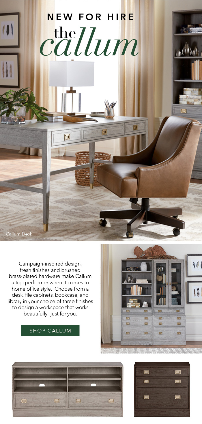 Ethan Allen Work Your Style With The New Callum Milled