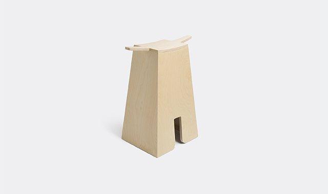 'Bisonte' stool by Michele di Lucchi for Produzione Privata