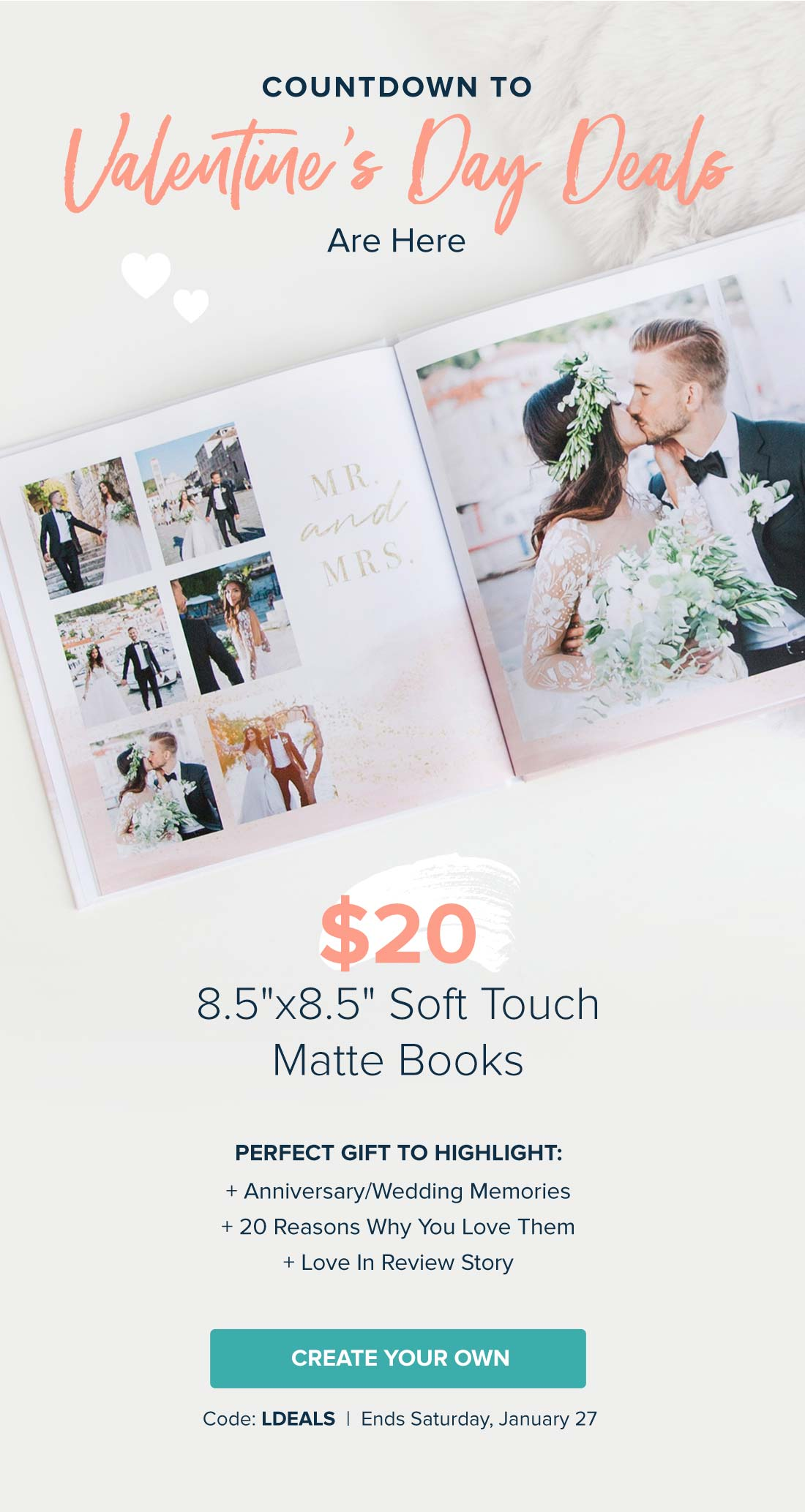 Mixbook Photo Co.: Wait till you see these Valentine\'s Day deals ...