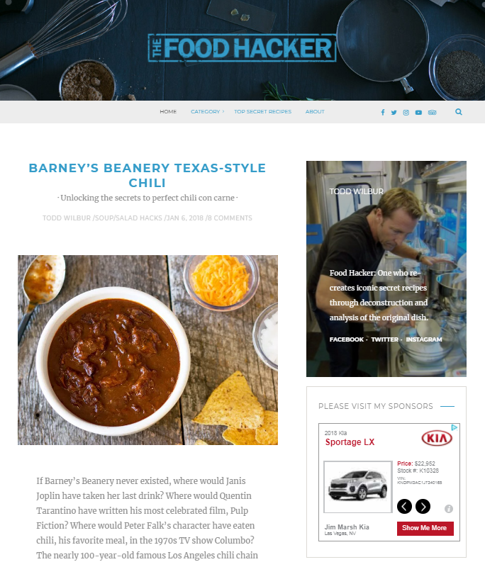 d7a34b7ad91e A new place for new hacks  The Food Hacker is live.