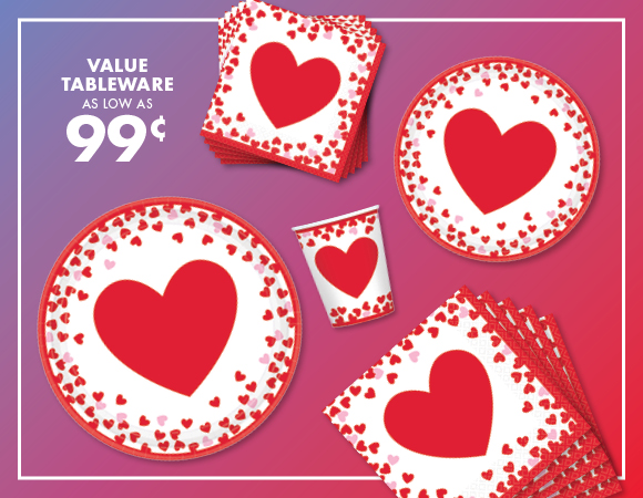 party city great valentines day party supplies save 25 milled