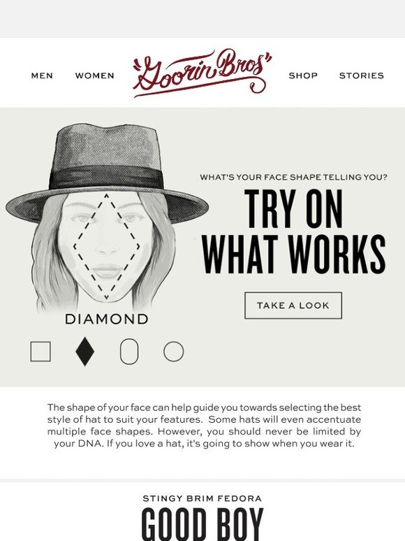 Goorin Brothers  How to find the perfect hat for your face  93cc2d9a3c2b