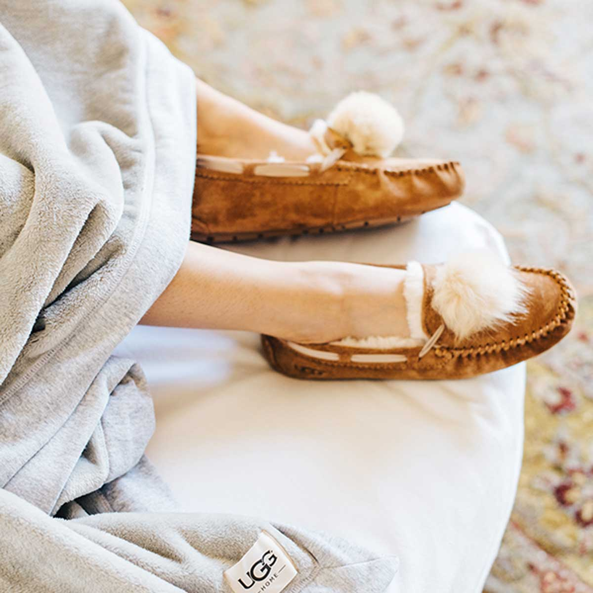 34d726205b1 UGG Australia: The softest pom pom slippers | Milled