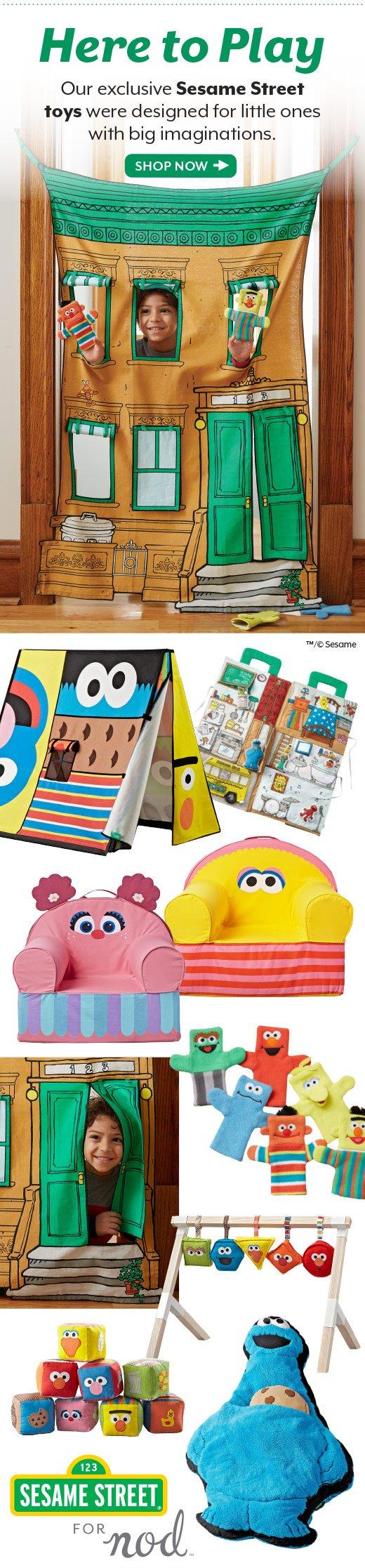 Shop Sesame Street