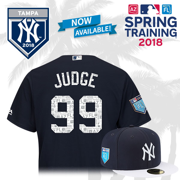 new style 78c10 5b8ab MLBShop.com: JUST ARRIVED: Yankees 2018 Spring Training Gear ...