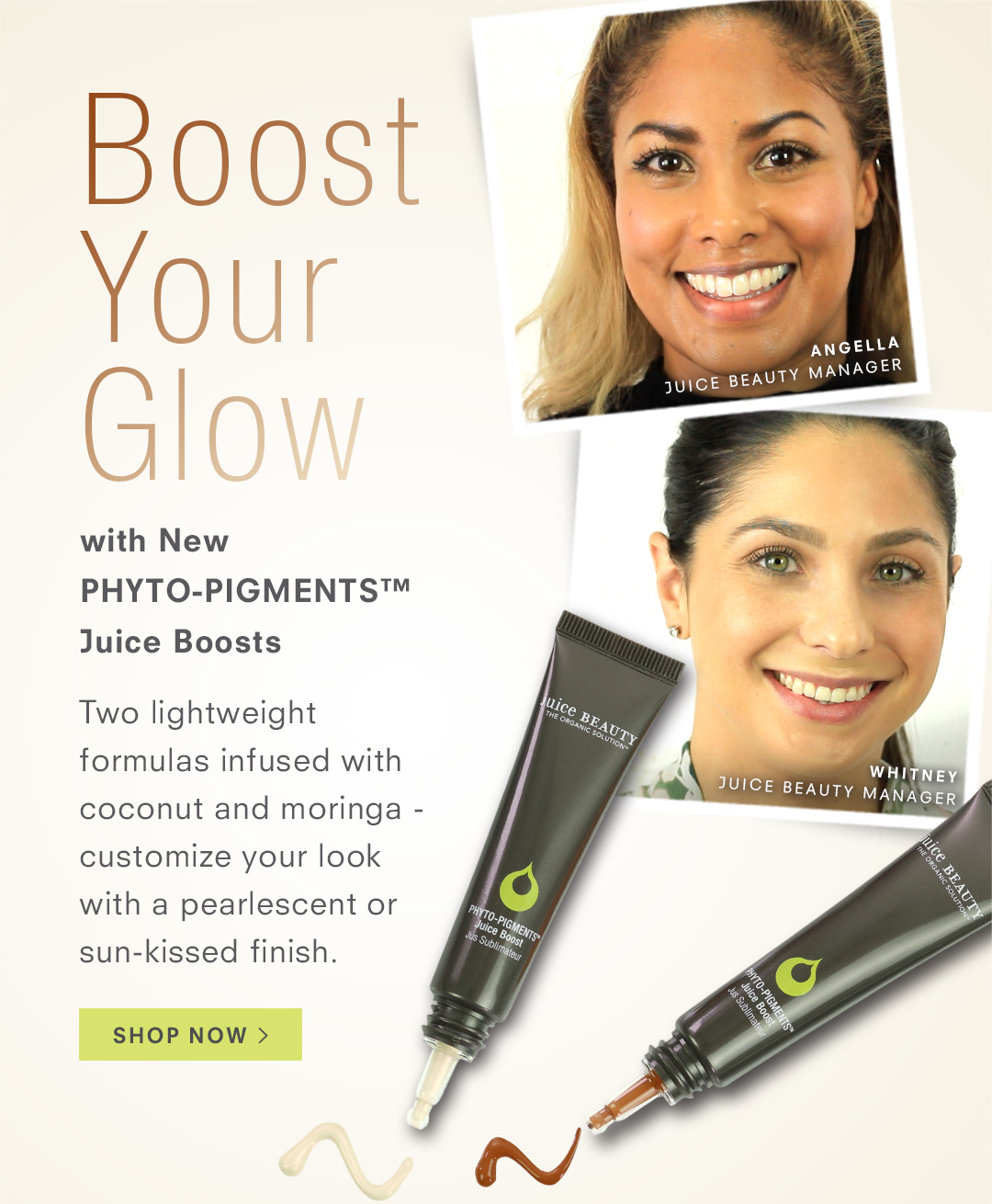 Boost Your Glow with PHYTO-PIGMENTS Juice Boost