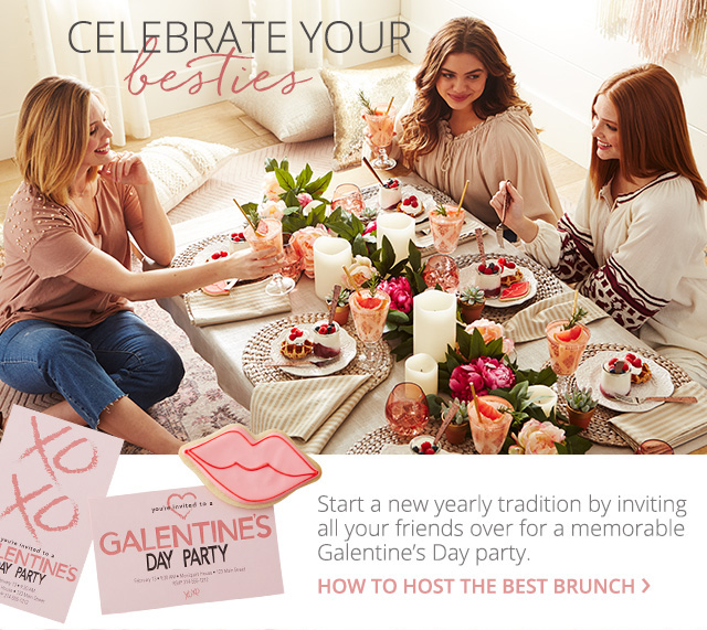 Celebrate your besties. How to host the best brunch.