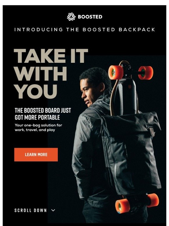 boosted boards introducing the boosted backpack milled