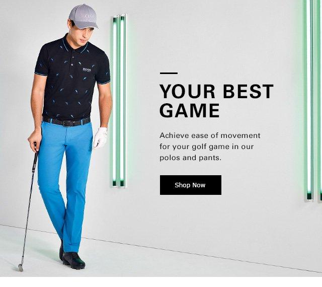 neue sorten 100% Zufriedenheit viele Stile Hugo Boss: Get Ready for Golf Season | Shop BOSS Golf ...