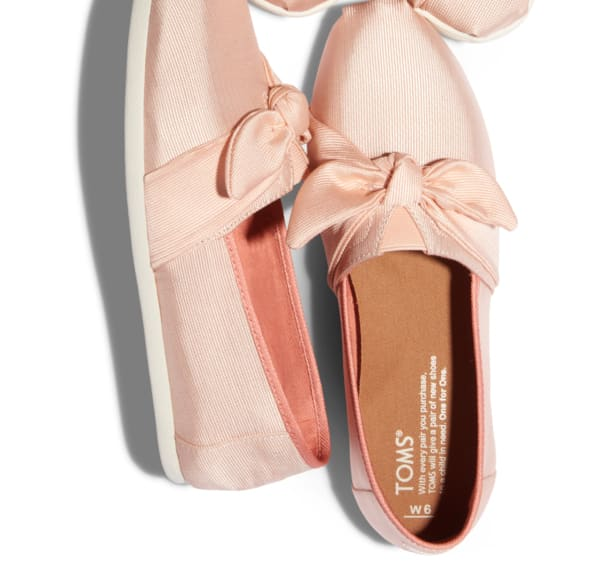 TOMS Surprise Sale: With a bow on top