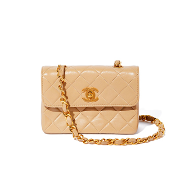 What Goes Around Comes Around Chanel Vintage Micro Bag $2,750