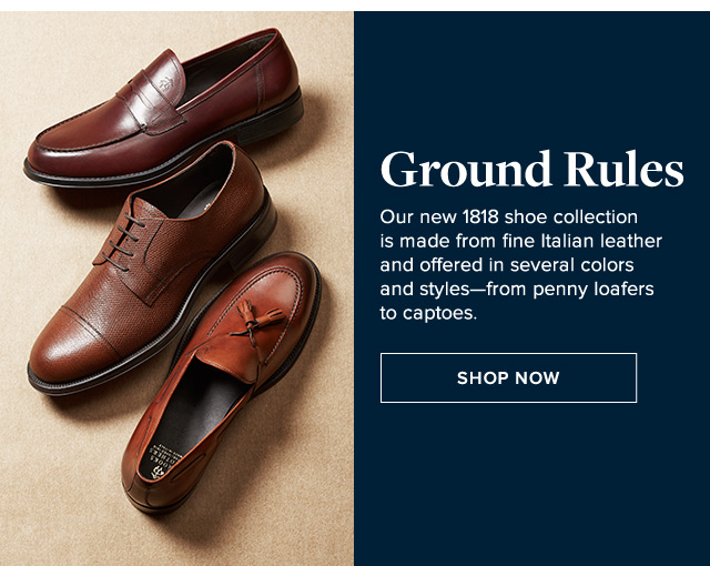 GROUND RULES | SHOP NOW