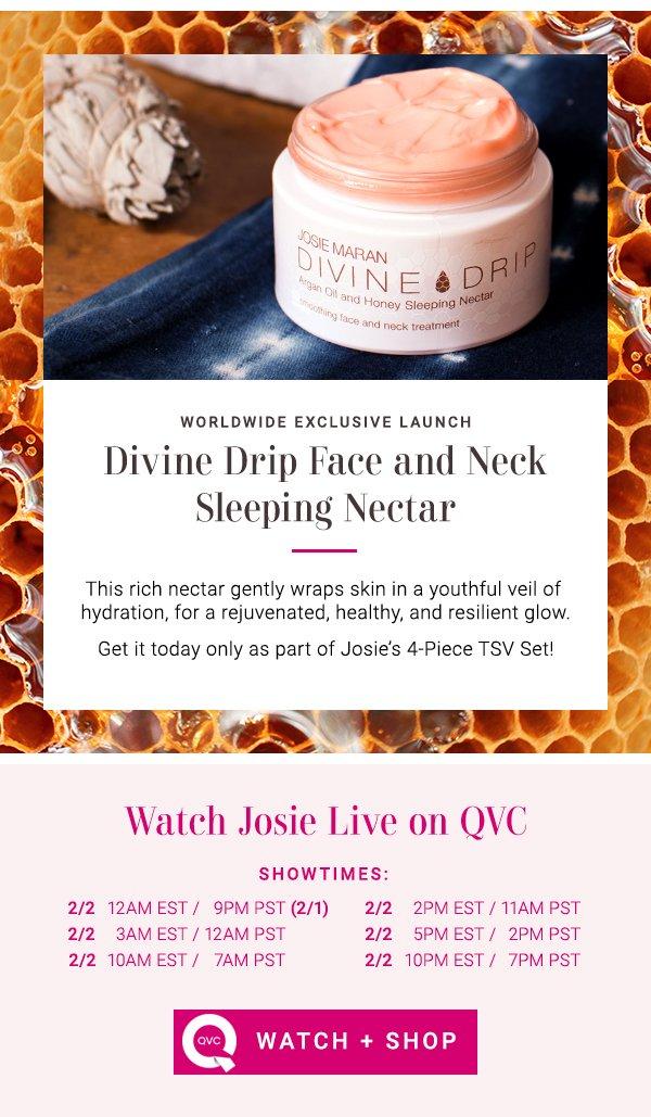 Josie Maran: NEW Exclusives in Today's TSV - Watch Josie on