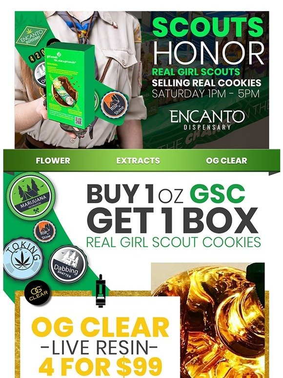 Encanto: Scouts Honor, Get your GSC oz   Milled