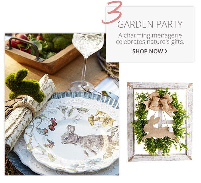 Garden Party, shop now.