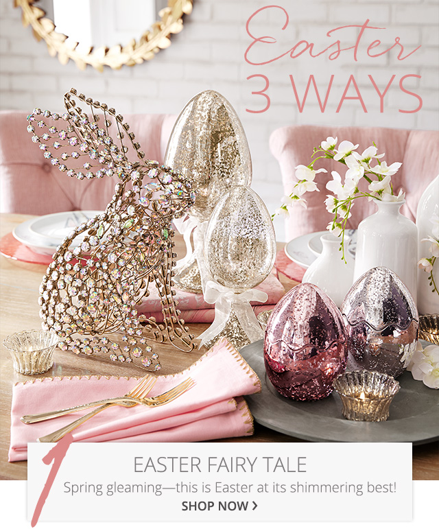 Easter 3 Ways. Easter Fairy Tale, shop now