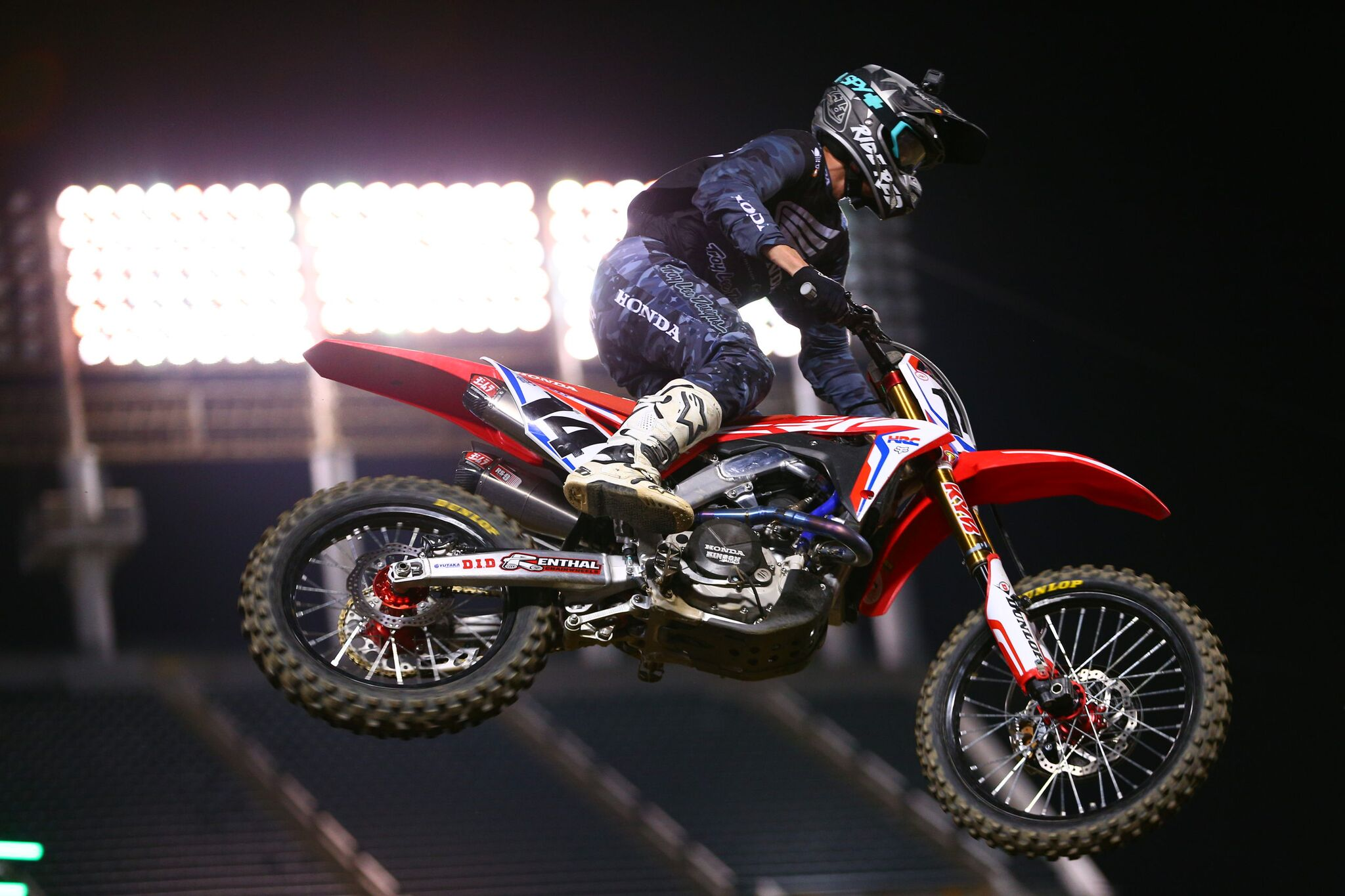 Troy Lee Designs TLD s Seely es Out Swinging in Oakland