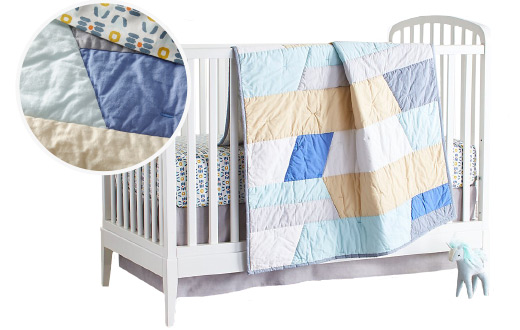 Stained Glass Crib Bedding