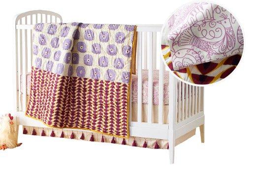 Global Motif Crib Bedding