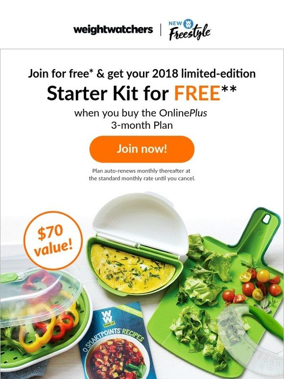 Weight Watchers Shop: The NEW 2018 Starter Kit is here ...