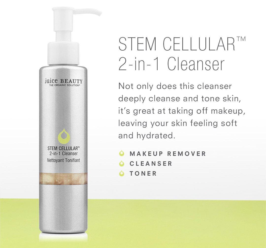 STEM CELLULAR 2-in1 Cleanser