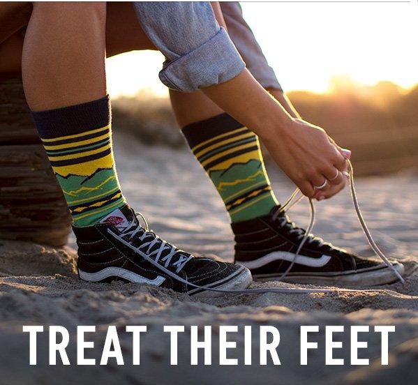 Treat Their Feet