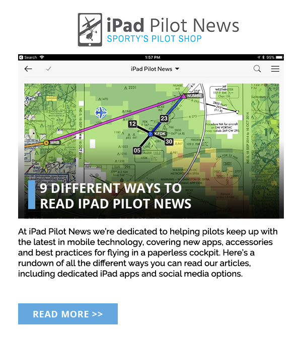 9 ways to read iPad Pilot News