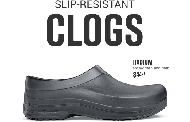 b2c1b2d07cc05e Shoes for Crews  10% Off + Comfortable Clogs from SFC