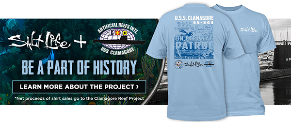 Get your limited edition USS Clamagore Commemorative Tee