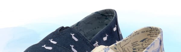 fff8c7eeeea Oceana Washed Canvas Embroidered Whales Women s Classics